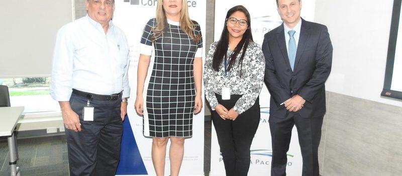 Panama Compliance ofreció seminario a empresas de Panamá Pacífico