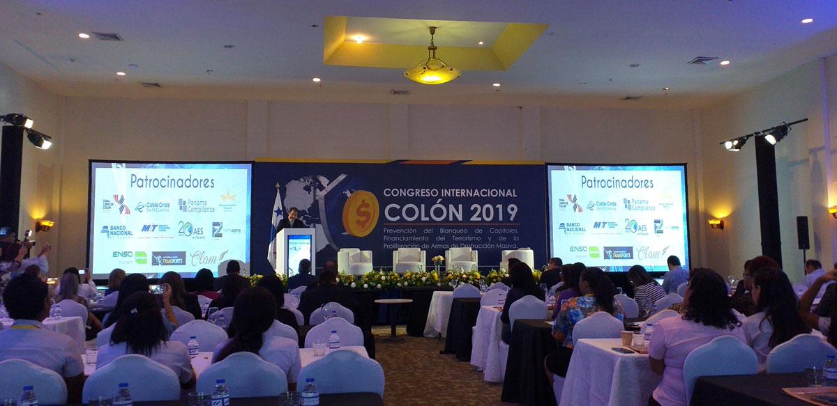 Panama Compliance participó en el I Congreso Internacional Colón 2019