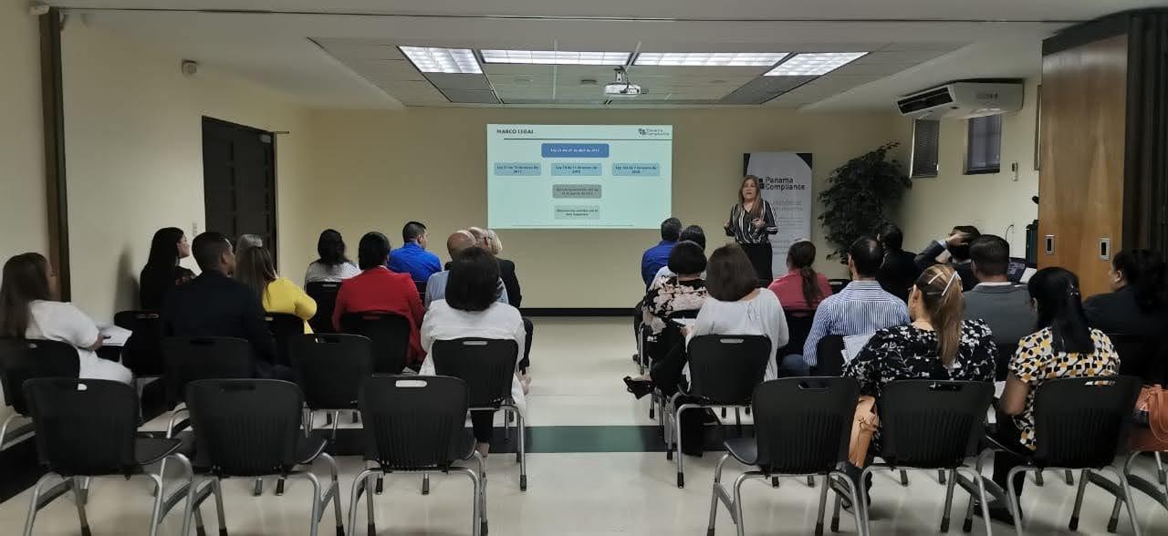 """Panama Compliance participó en la Presentación """"Cumplimiento de la normativa de Prevención Nacional en el Sector no Financiero"""""""